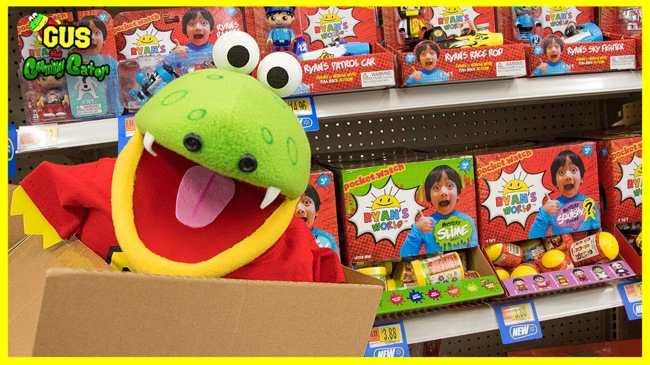 I Mailed Myself To Walmart To Toy Hunt For Ryan Toysreview