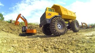 RC ADVENTURES - GOLD Mining Radio Control Construction Site