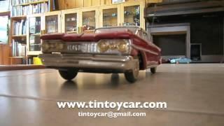 Oldsmobile 1959 Ichiko Japan 50's. Compro Juguetes Antiguos de Hojalata.