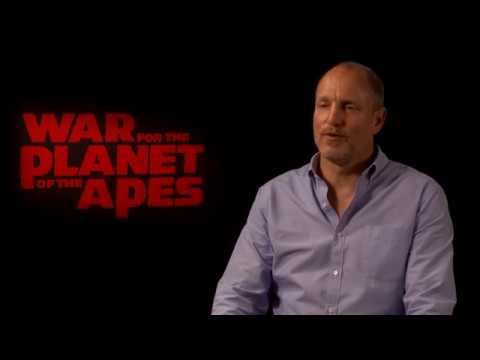 Woody Harrelson Interview for War for the Planet of the Apes