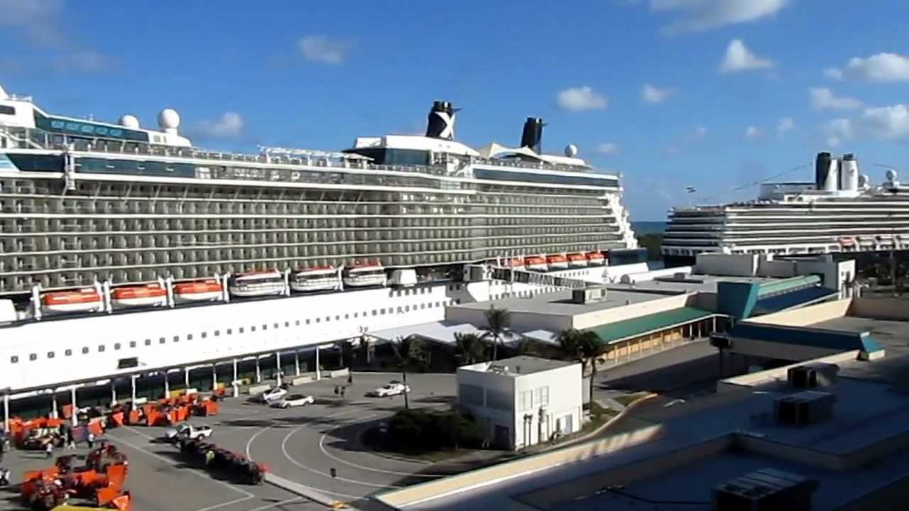 Fort Lauderdale Cruise Port  YouTube