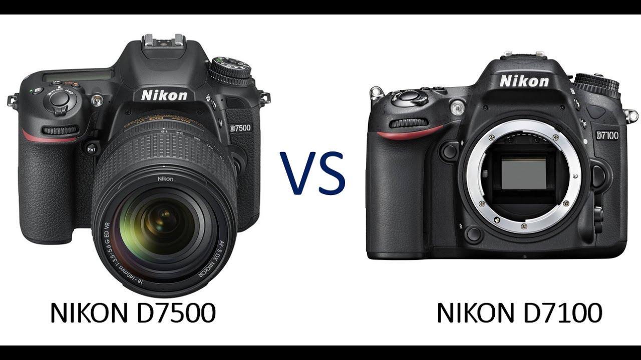 Nikon D7500 vs Nikon D7100