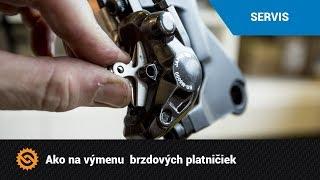 Ako vymeniť brzdové platničky  | SERVIS - MTBIKER.SK