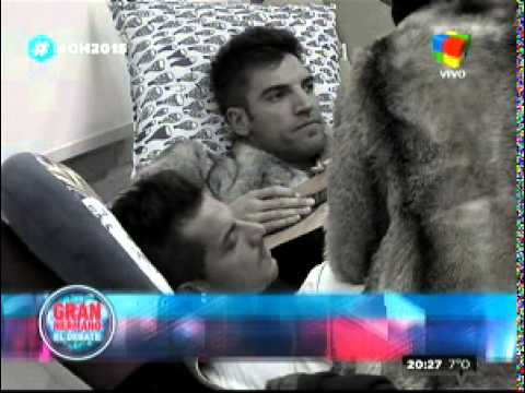 """""""Gran Hermano 2015"""": Nicolás y su furia contra Francisco"""