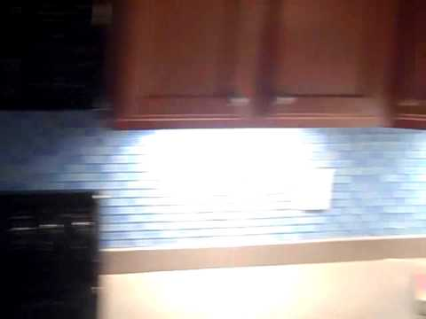 Kitchen Tile No Grout Youtube