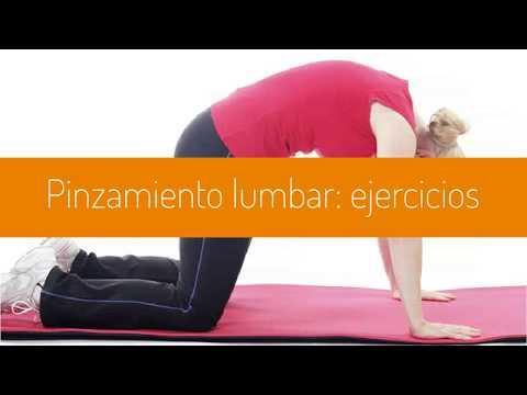 Pinzamiento lumbar: ejercicios que lo alivian