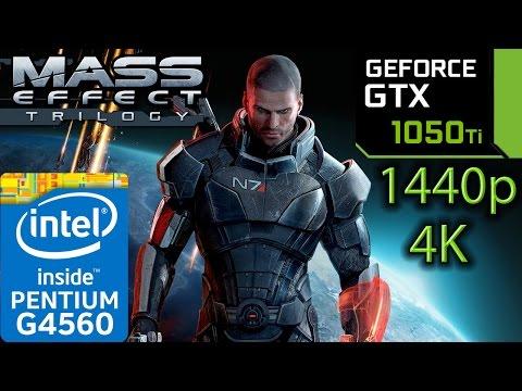 Mass Effect Trilogy GTX 1050 ti - 1 - 2 - 3 - G4560 - 1440p - 4K - series - 동영상