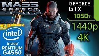Mass Effect Trilogy GTX 1050 ti - 1 | 2 | 3 - G4560 - 1440p - 4K - series