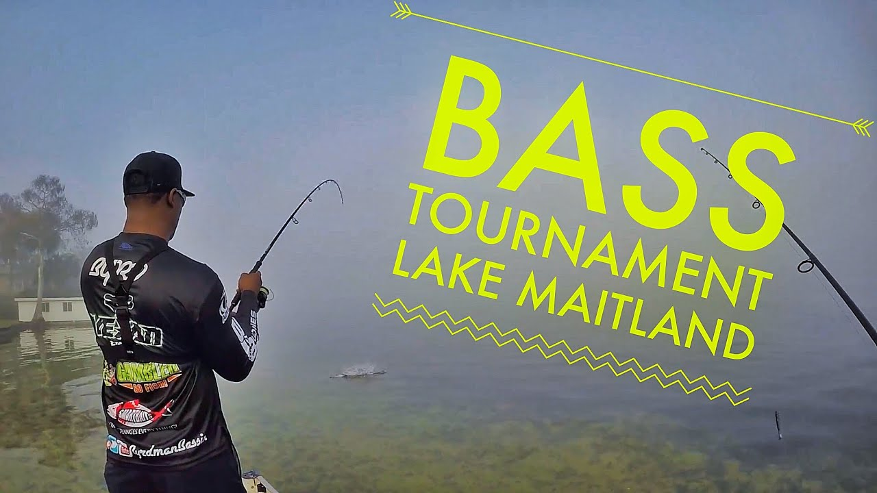 Bass tournament with byrdman bassin on lake maitland in for Bass fishing tournaments in florida