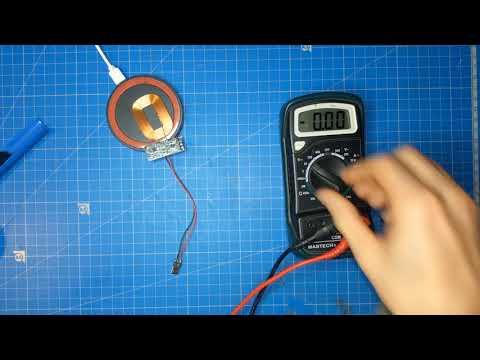 Wireless charging Gameboy DMG-01 MOD