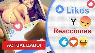 Como Tener Muchos Likes y Reacciones En Facebook, NUEVO METODO 2017
