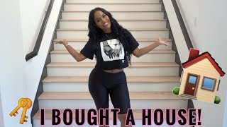 Gambar cover EMPTY HOUSE TOUR - I BOUGHT MY FIRST HOUSE!