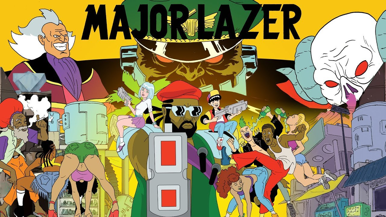 Download Major Lazer - Season 1 Trailer (All Episodes Available Now)