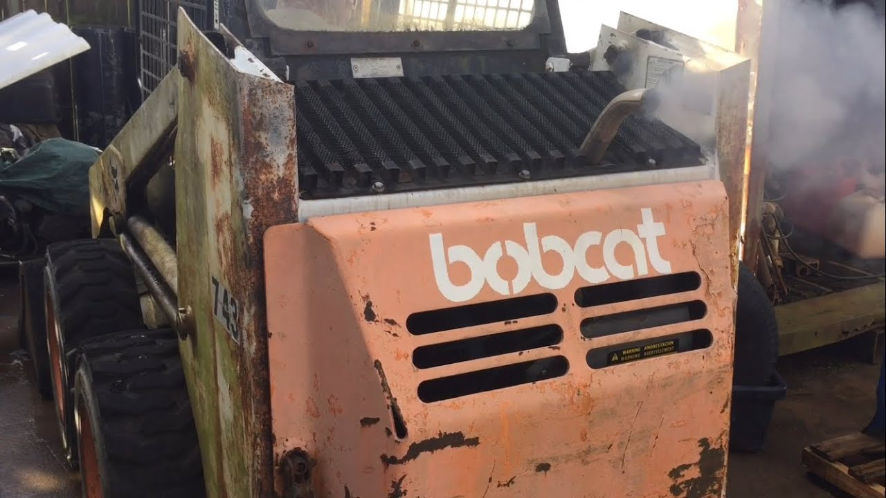 small resolution of cold start 1986 bobcat 743