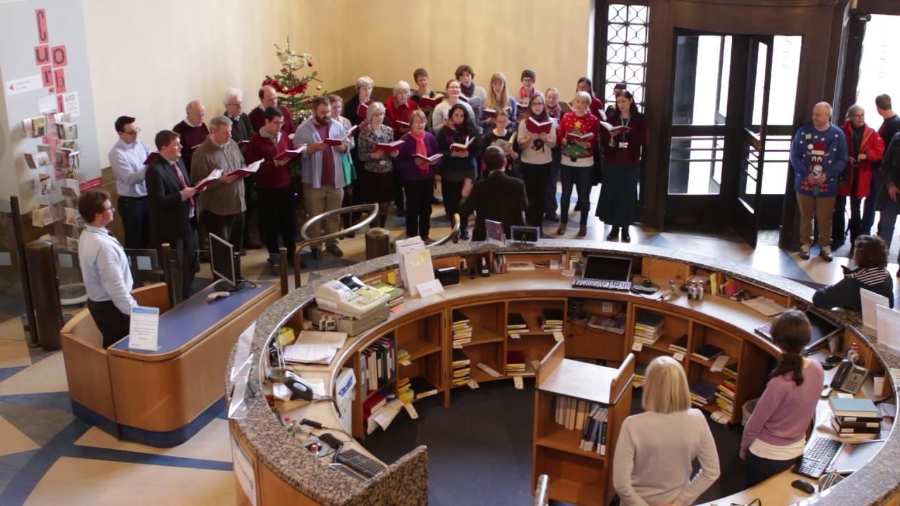 Christmas Carol At The Cambridge University Library 2016