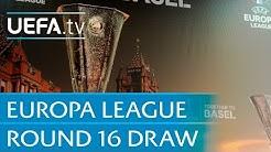 2015/16 UEFA Europa League round of 16 draw