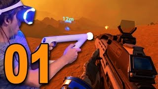 Farpoint VR - Part 1 - VIRTUAL REALITY FIRST PERSON SHOOTER!