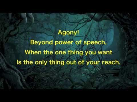 """Agony"" - Into the Woods lyrics 2014"