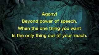"""Agony"" - Into the Woods lyrics 2014"