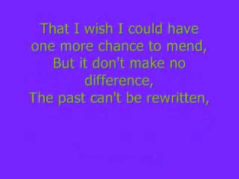 Lessons Learned -Carrie Underwood (lyrics)