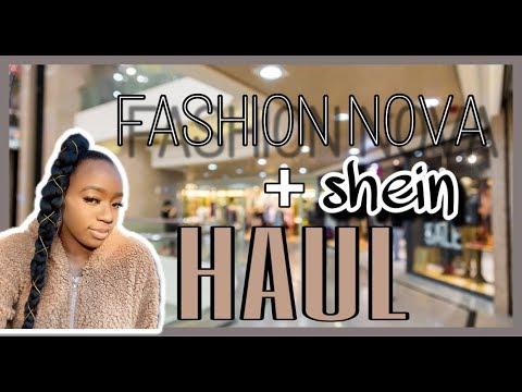Fashion Nova + Shein TRY-ON Haul | BLACK FRIDAY