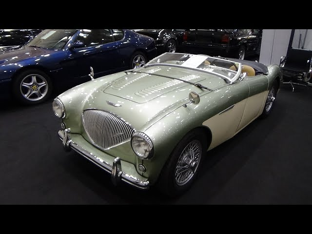 1954 Austin-Healey 100-4 BN I - Exterior and Interior - Hamburg Motor Classics 2018