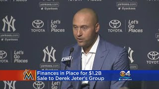 Finances In Place For $1.2B Sale Of Marlins To Derek Jeter's Group