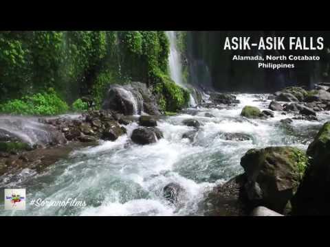 Majestic Asik Asik Falls in Alamada North Cotabato Philippines