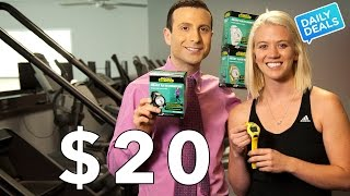 $20 Sketchers Go Walk Heart Rate Monitor Watch Review ► The Deal Guy