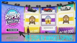 Forza Horizon 4 OPENING 90 SUPER WHEELSPINS! 8M CREDITS & MORE