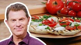 Bobby Flay Makes a Savory Pizza and Dessert Pizza | Food Network