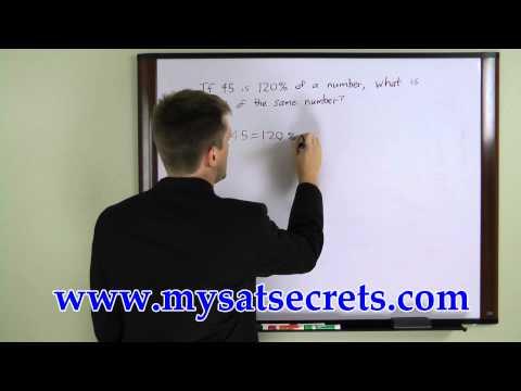 SAT Exam - Free SAT Math Lesson 1