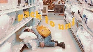 💛BACK TO UNI // settling in, dorm shopping + thrifting, etc