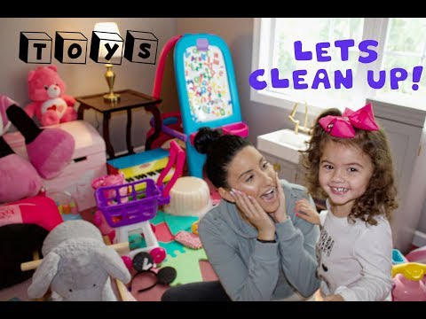 FALL CLEAN WITH ME ROUTINE - THE PLAYROOM / KIDS AREA