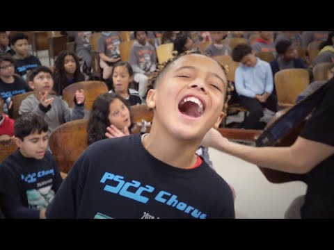 "PS22 Chorus ""Memories"" Maroon 5"