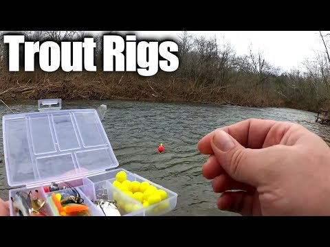 Float Rig Vs Bottom Rig! Trout Fishing With Power Eggs & Gulp Worms