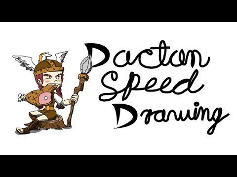 Wigfrid | Dactan Speed Drawing