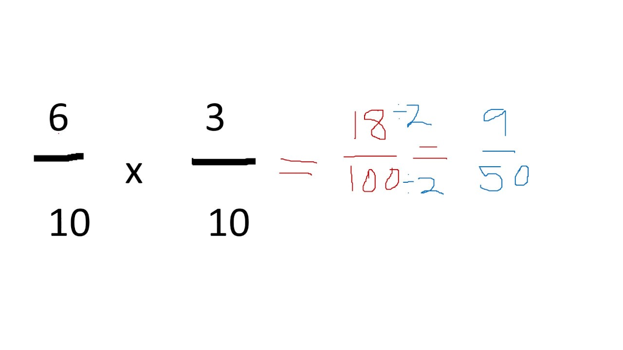 How To Multiply Fractions With The Same Denominator