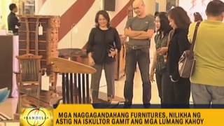 Pinoy Sculptor Makes Furniture Using Recycled Wood
