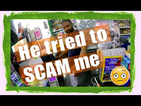 BP petrol station tries monster scam rip off on me