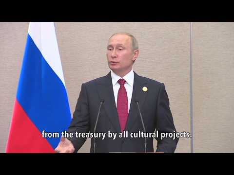 Putin: Set Russian Crooked Art Director Free 'Cause He's a 'Creative' Special Snowflake? NO WAY!