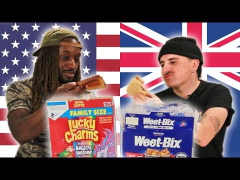 Australians and Americans Swap Breakfast Foods