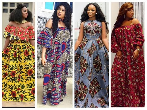 2020 AFRICAN DRESSES: MOST STYLISH AND FLAWLESS AFRICAN ANKARA STYLES FOR BEAUTIFUL LADIES