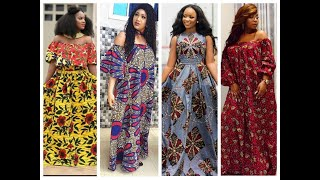 2020 AFRICAN DRESSES: MOST STYLISH AND FLAWLESS AFRICAN ANKARA STYLES FOR BEAUTIFUL LADIES screenshot 4