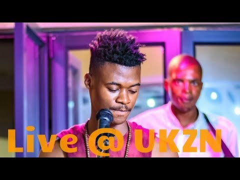 Mlindo The Vocalist - Amablesser Ft Dj Maphorisa Live At UKZN For The First Time Mr & Miss Newcomer
