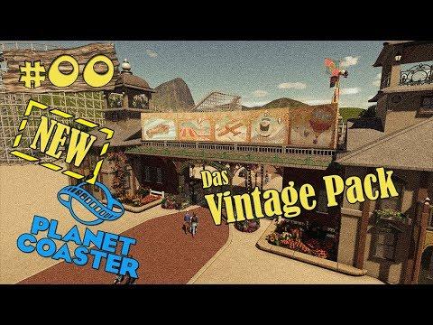 Planet Coaster ★ Vintage Pack! ★ First Look! Neues Add-On! + 1.7 Update [DEUTSCH] [HD+] [NEW UPDATE]
