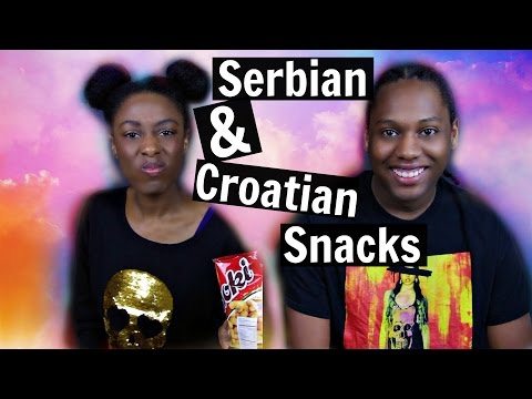 Americans Try European Snacks | Serbia + Croatia