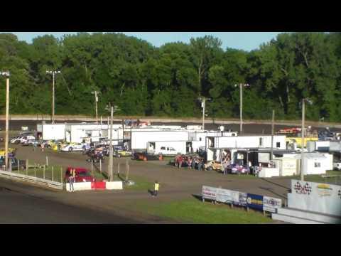 Late Model Heat 2 @ Hamilton County Speedway 07/01/17