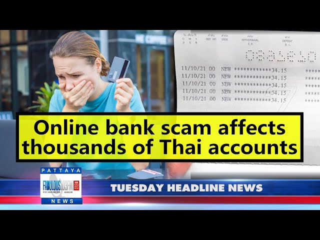 Latest Thailand News, from Fabulous 103 in Pattaya (19 October 2021)