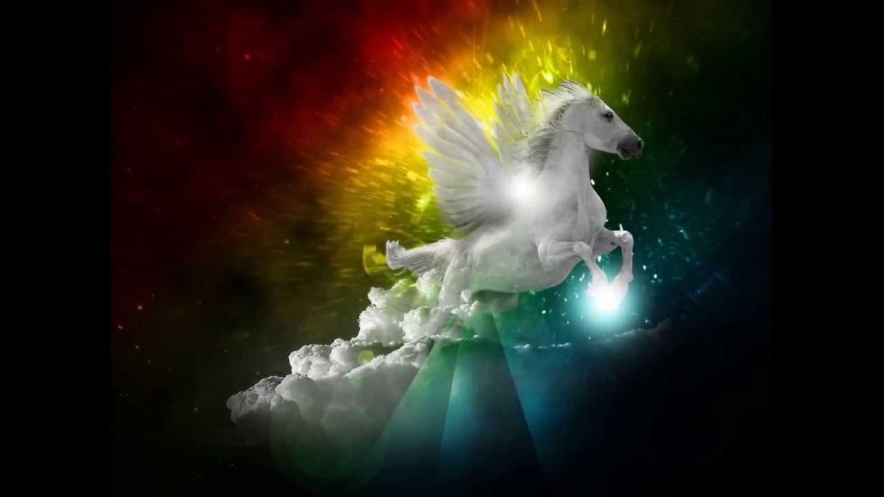 Unicorni cavalli e pegaso youtube - Unicorno alato pagine da colorare ...